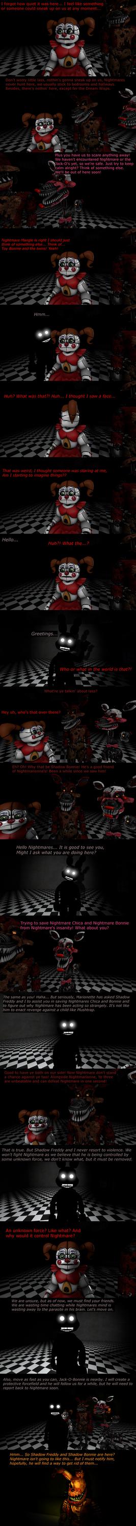 The Misfit Nightmare Pt 16 by EmeraldWerewolfHeart