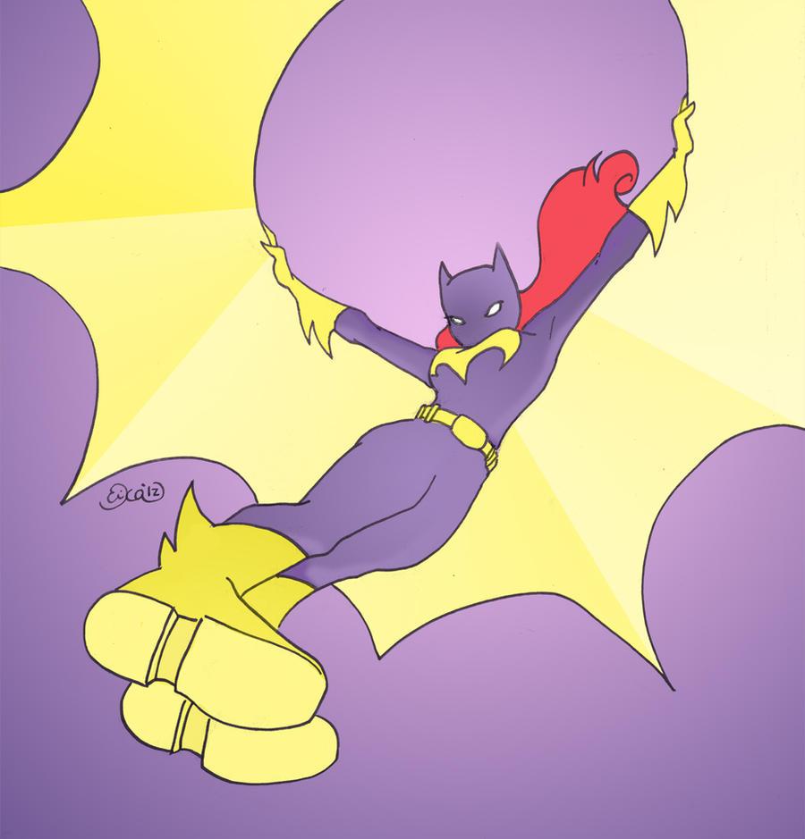 Batgirl: Descent by SimplyErika