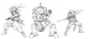 Chrono Trigger fanart sketch by scorn-maniac