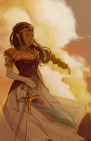 Zelda by manreeree