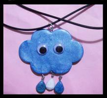 Mr cloud pendant by AnaInTheStars