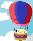 espresso in an air balloon by AnaInTheStars