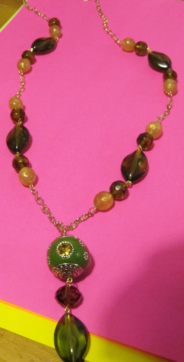 indu princess necklace by AnaInTheStars