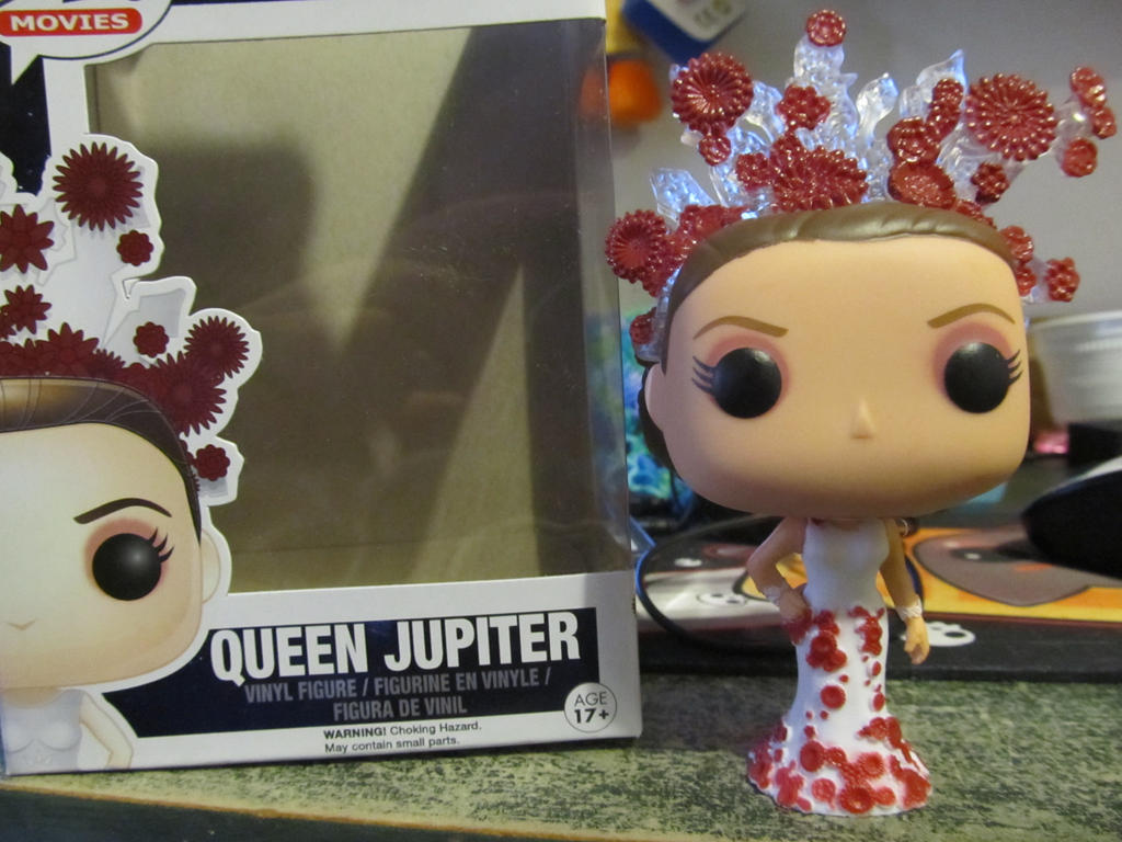 Funko Pop Queen Jupiter from Jupiter Ascending by AnaInTheStars