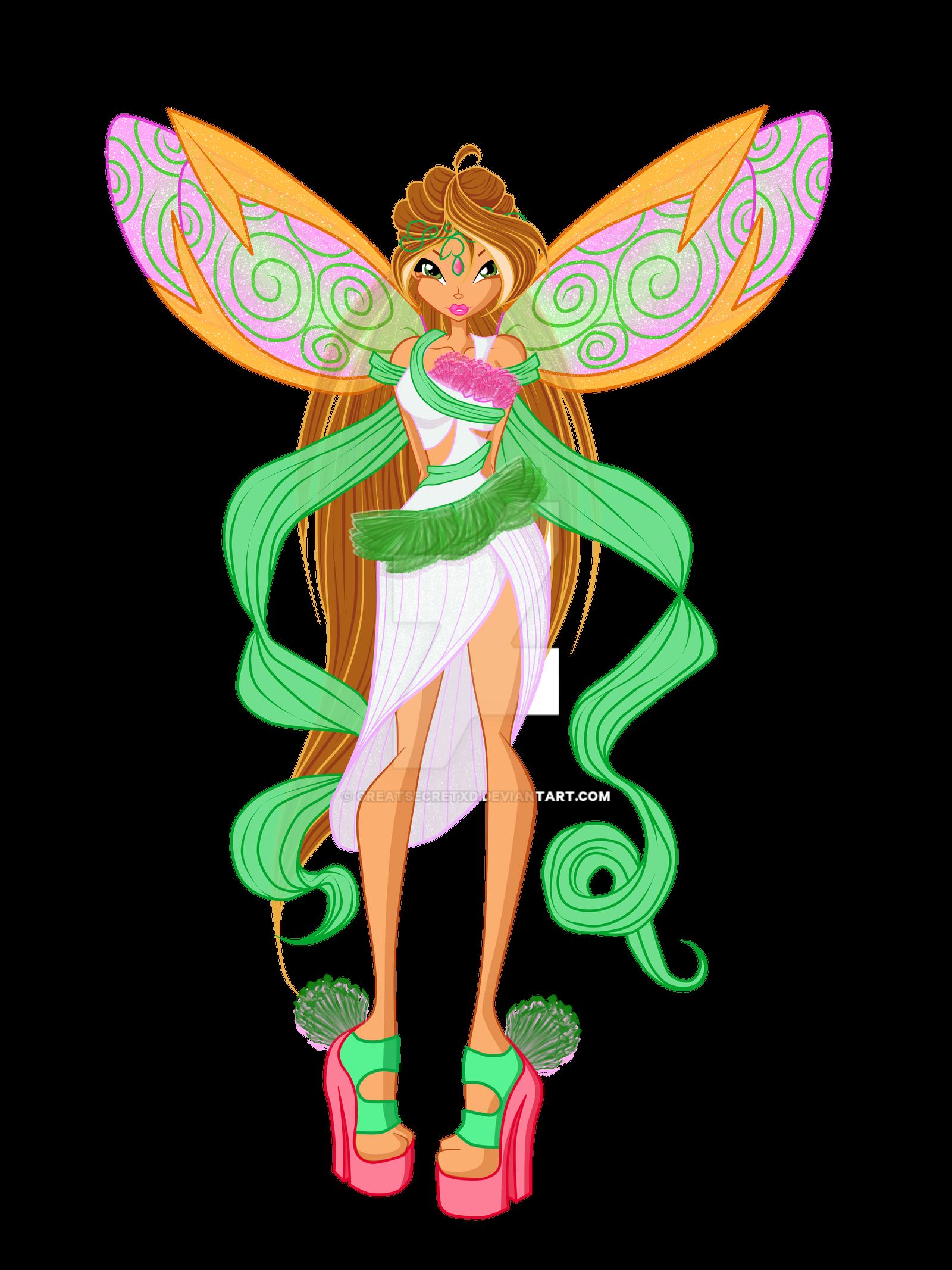 Flora - Fairy of Nature - Lycorix by GreatSecretxD on DeviantArt