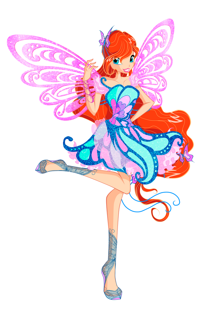 Bloom - Fairy of the Dragon Flame - Butterflix by GreatSecretxD