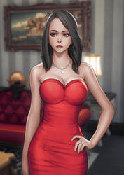 Bella Goth (Sims 4) by LuimiArt