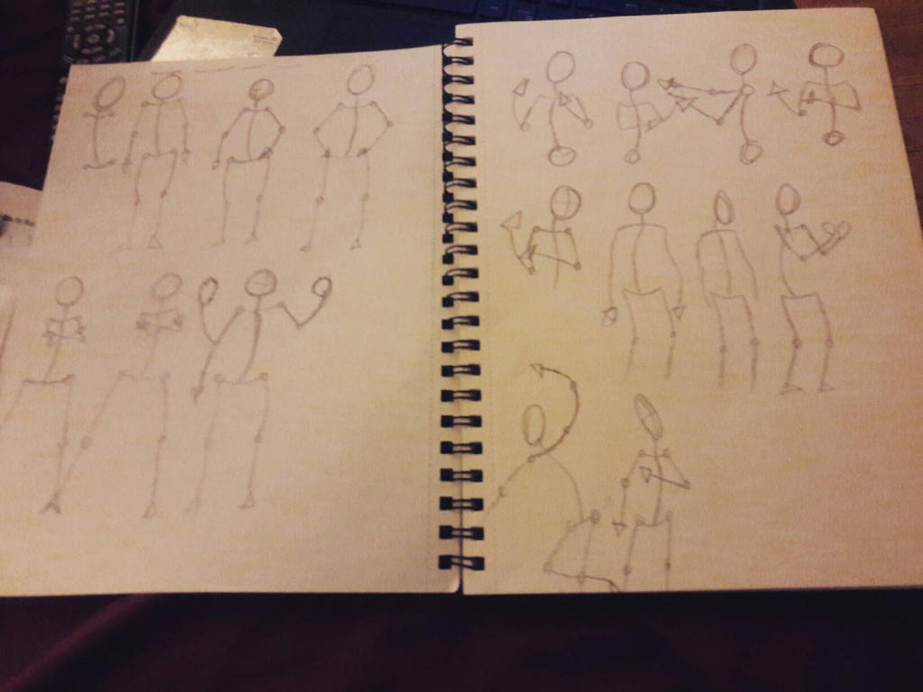 Tonight's a Good Night for some Stick Figures by therealTy