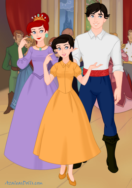 Ariel And Eric Family By Raeofsunshine101 On Deviantart