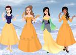 Yellow Princesses by Raeofsunshine101