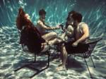 Underwater Lounging