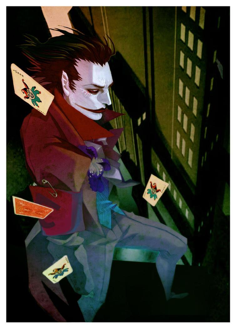 the joker by AnnaWieszczyk