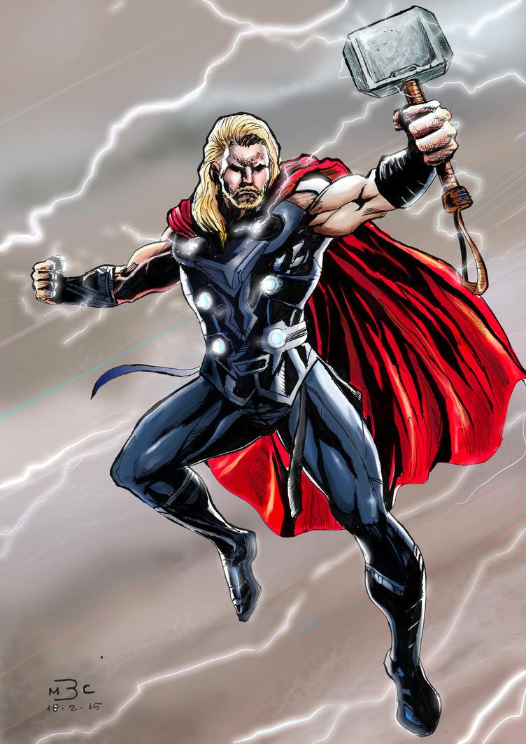Thor - God of Thunder by marcel815