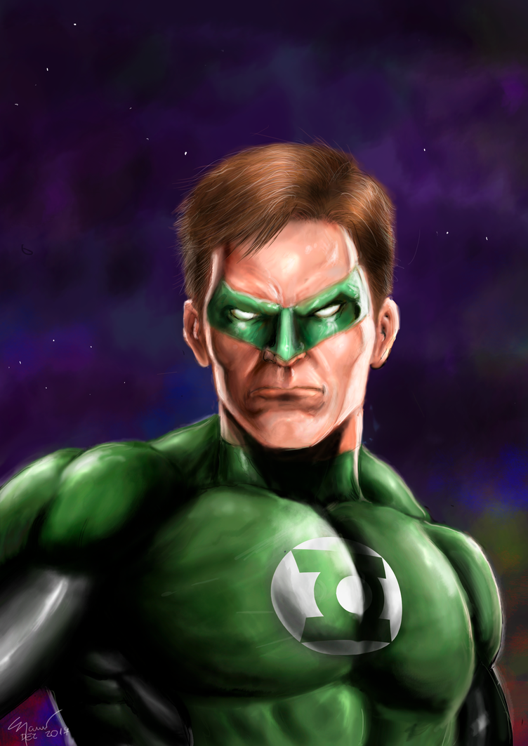 Green Lantern by marcel815 on DeviantArt