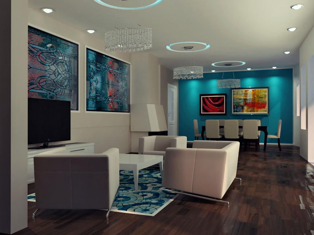 Interior rendering vray by koncaliev on deviantart for Vray interior