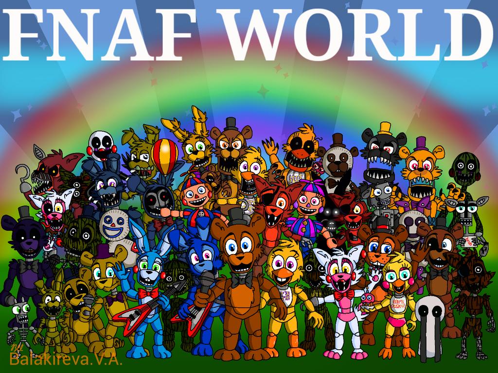 nope f naf world wallpaper - photo #8