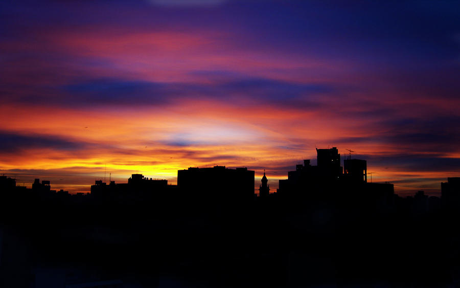 Sunrise from my window... by Anakisha