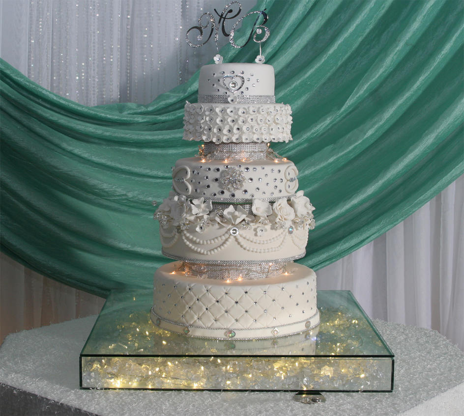Bling Bling Wedding Cake By Yoxxy On DeviantArt