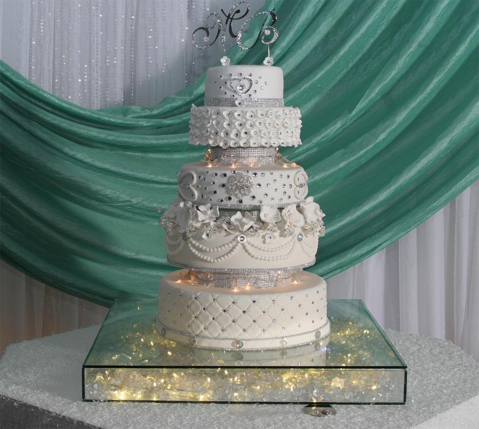 bling bling wedding cake by yoxxy on deviantart. Black Bedroom Furniture Sets. Home Design Ideas