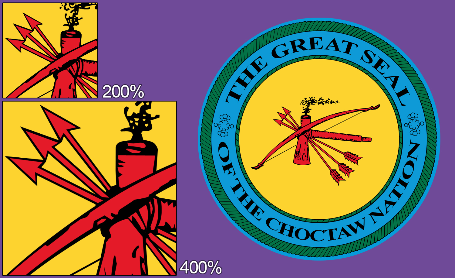 The Great Seal of the Choctaw Nation by RefineDesigns on