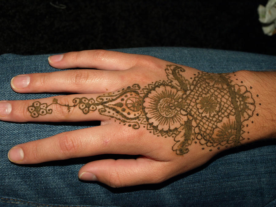 East Indian Henna Tattoo: Indian Henna-EB By VivaciousMemory On DeviantArt