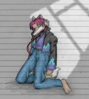 Sad Foxie