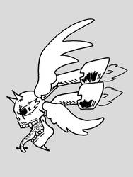 Skull Wings Fire and Mufflers