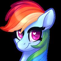 Rainbow Dash Portrait (again)