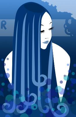 Wavy Hair by littleraeofsun