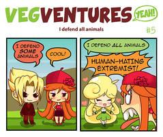 VV5: I defend all animals by Pupaveg