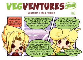 VV6: Veganism is like a religion by Pupaveg