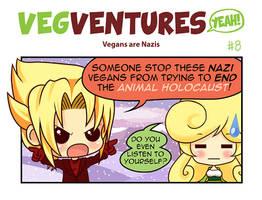 VV8: Vegans are Nazis by Pupaveg