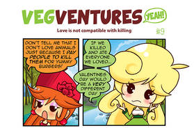 VV9: Love is not compatible with killing by Pupaveg