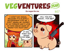 VV67: Go vegan for me by Pupaveg