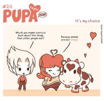 #211: It's my choice by Pupaveg