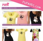My new vegan webshop by Pupaveg