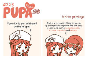 #225: White privilege by Pupaveg