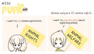 #336: Animal rights VS animal welfare by Pupaveg