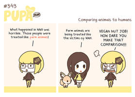 #343: Comparing animals to humans by Pupaveg