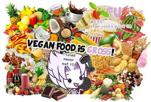#630: Vegan food is gross? (3) by Pupaveg