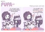 #622: Making people feel bad by Pupaveg