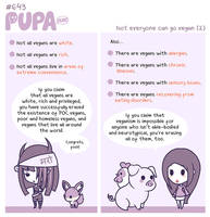 #643: Not everyone can go vegan (2) by Pupaveg
