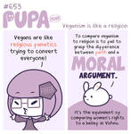 #653: Veganism is like a religion by Pupaveg