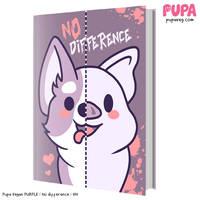 Purple hardback - book by Pupaveg