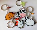 Pupa animal charity keychains - series 1