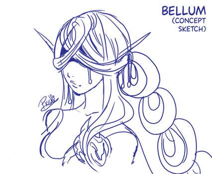 Bellum - concept rough sketch