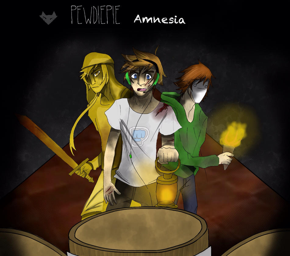 Pewdiepie Amnesia by Squishykitt on DeviantArt