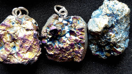 Druzy Necklaces 2 by kiran-freak