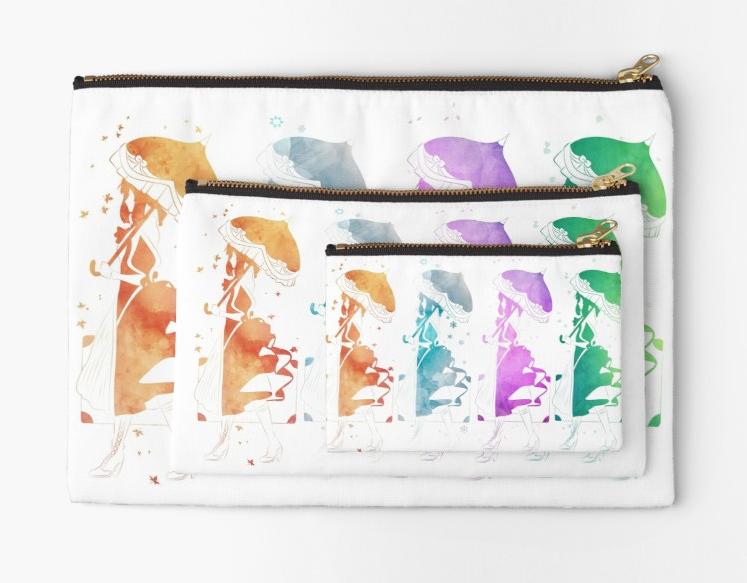 Violet Evergarden Seasons in White by kiran-freak