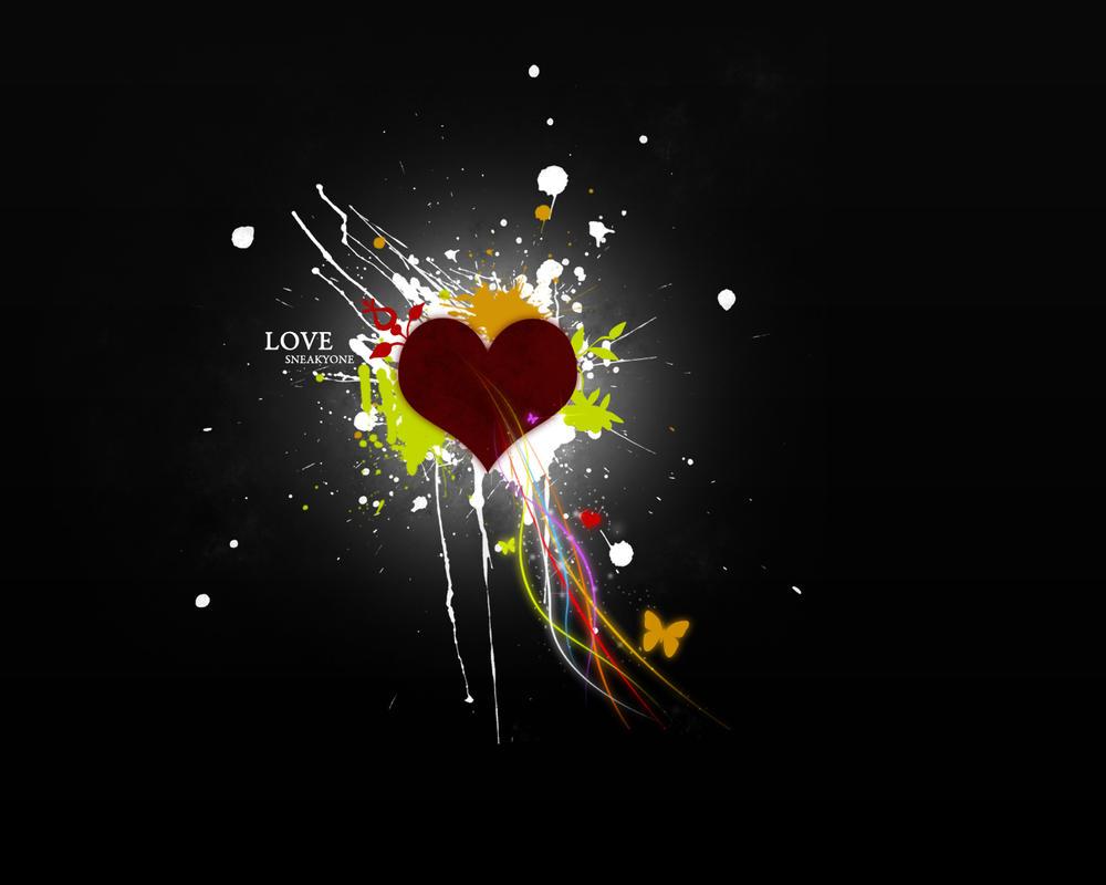 Wallpaper Love by PaulNLD